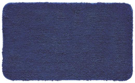 BADTEPPICH  Dunkelblau  60/100 cm - Dunkelblau, Basics, Kunststoff/Textil (60/100cm) - KLEINE WOLKE