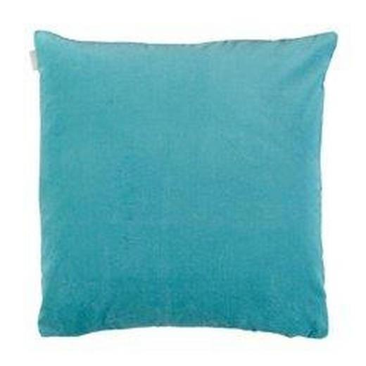 KISSENHÜLLE Türkis 50/50 cm - Türkis, Basics, Textil (50/50cm) - Linum
