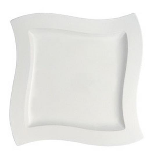 SERVIERPLATTE - Weiß, Basics, Keramik (34/34cm) - Villeroy & Boch