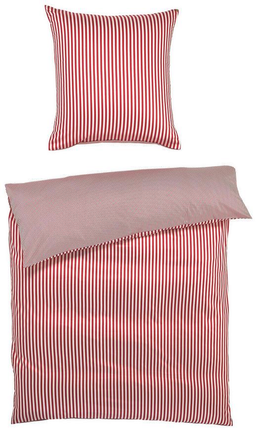BETTWÄSCHE Satin Rot 200/200 cm - Rot, Basics, Textil (200/200cm) - JANINE