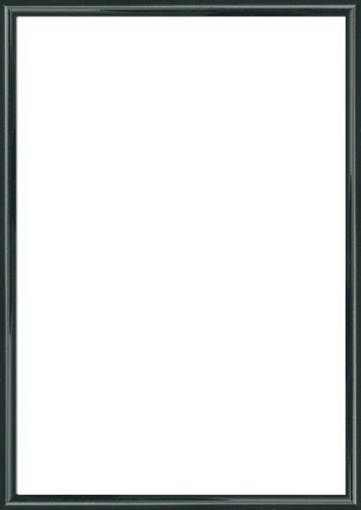 BILDERRAHMEN  Schwarz - Schwarz, Basics, Glas/Kunststoff (61/81cm)