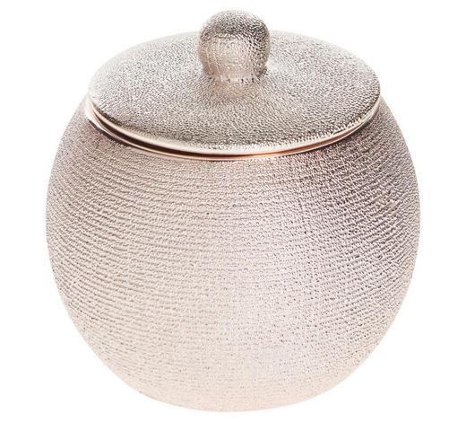 KOSMETIKDOSE Keramik - Rosa, Basics, Keramik (9,3/9,7cm) - Sadena