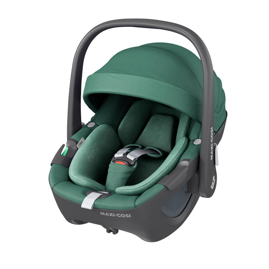Image of Maxi-Cosi Babyschale pebble 360 , 8044047300 , Grün , Textil , glänzend,softmatt,Flachgewebe , abnehmbarer und waschbarer Bezug, ergonomischer Tragebügel, Gurtlängenverstellung, Reboardsystem, 3-Punkt-Gurt,abnehmbarer und waschbarer Bezug, ergonomischer T