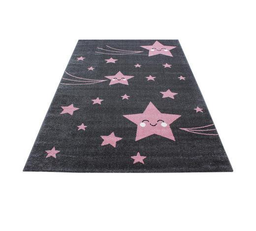 KINDERTEPPICH 80/150 cm - Pink/Grau, Trend, Textil (80/150cm) - Ben'n'jen
