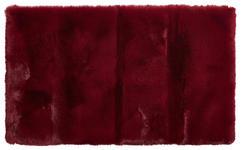 BADEMATTE  Rot  60/100 cm     - Rot, Design, Kunststoff/Textil (60/100cm) - Esposa