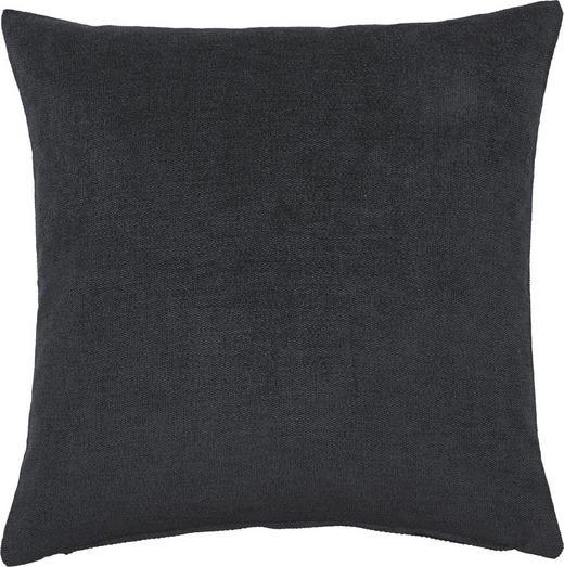 KISSENHÜLLE Schwarz 40/40 cm - Schwarz, Basics, Textil (40/40cm)