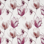 VORHANGSTOFF per lfm blickdicht  - Lila/Terra cotta, KONVENTIONELL, Textil (150cm) - Esposa