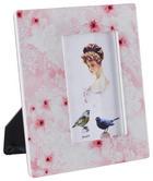 OKVIR ZA FOTOGRAFIJU - pink/bež, Trend, karton/keramika (18,5/20,5cm) - Ambia Home