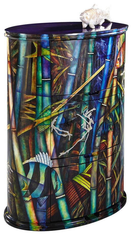 KOMMODE 75/99/46 cm - Multicolor, Design, Holz/Holzwerkstoff (75/99/46cm) - Xora