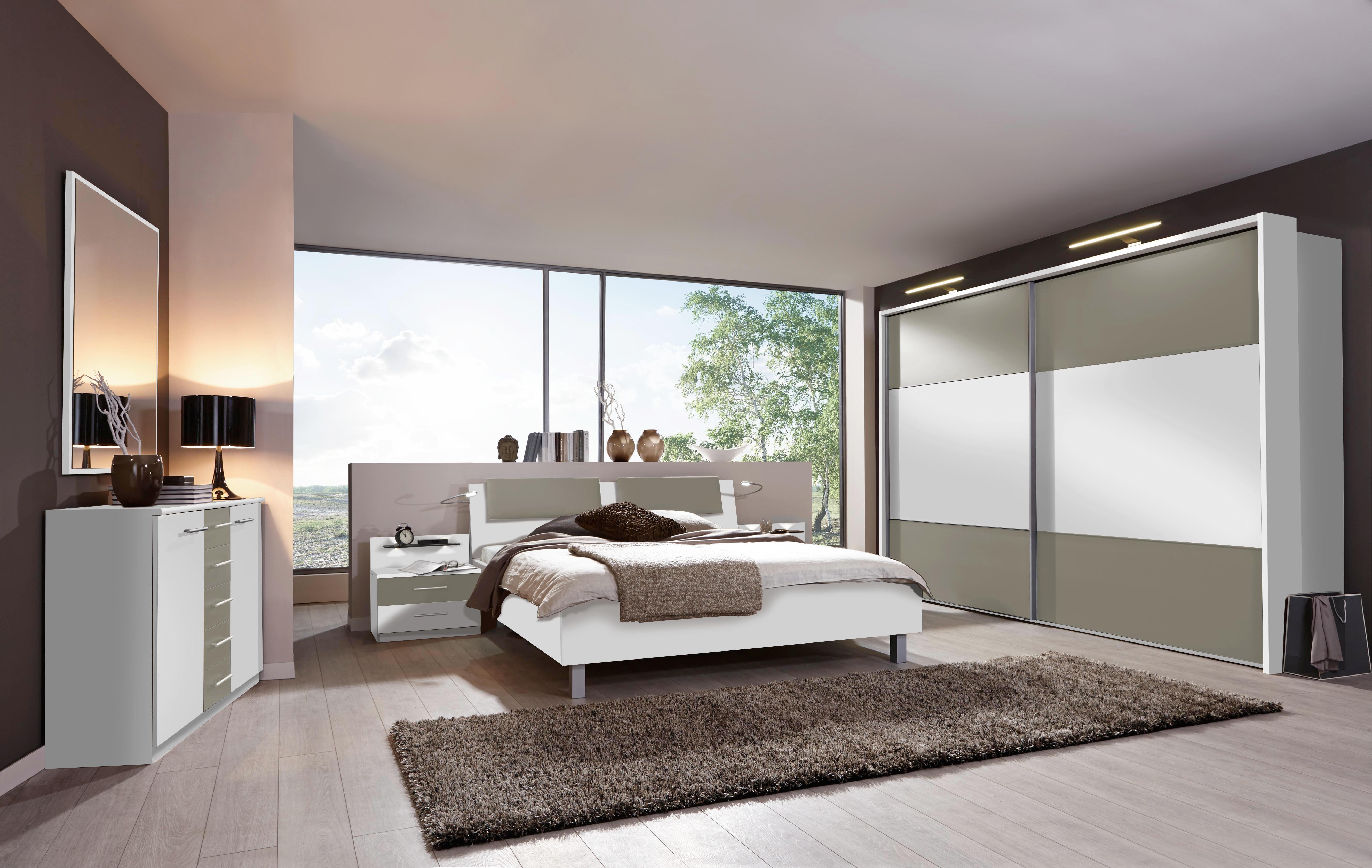 Schlafzimmer In Weiss Und Grau Im Set Online Kaufen