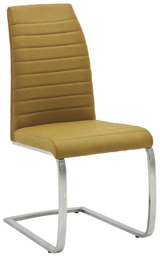 SCHWINGSTUHL Gelb - Gelb, Design, Textil/Metall (44/100/64cm) - Novel