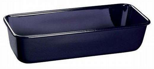 KASTENFORM Emaille - Schwarz, Basics, Metall (30cm) - Dr.Oetker