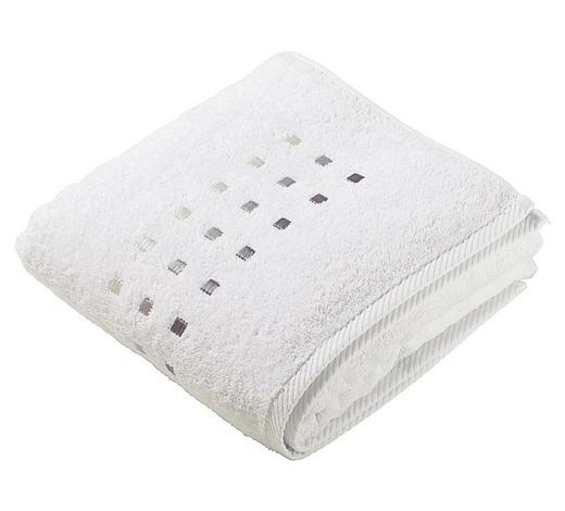 RUČNÍK, 50/100 cm, bílá - bílá, Konvenční, textil (50/100cm) - Esposa