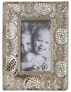 RÁMEČEK NA FOTOGRAFIE - barvy stříbra, Lifestyle, kov/sklo (23/18cm) - Ambia Home