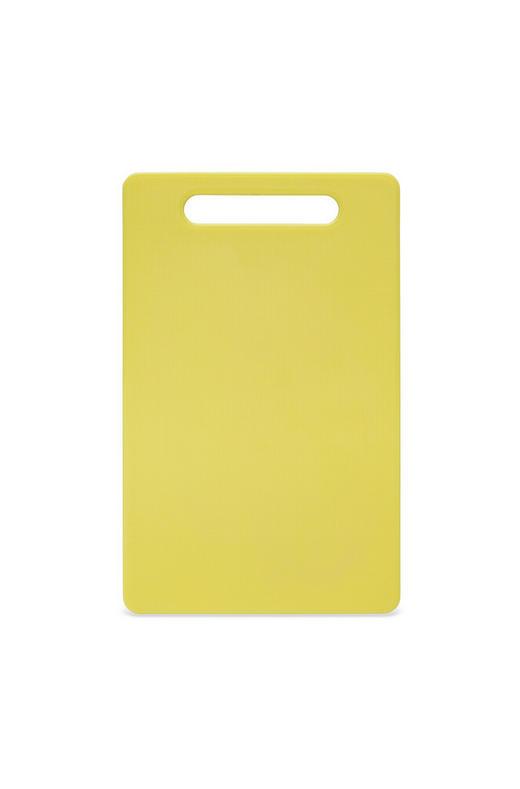 SCHNEIDEBRETT - Gelb, Basics, Kunststoff (15/24/0,5cm) - Homeware