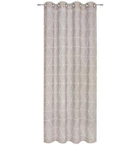 ÖLJETTLÄNGD - mullvadsfärgad/gråbrun, Design, textil (135/245cm) - Esposa