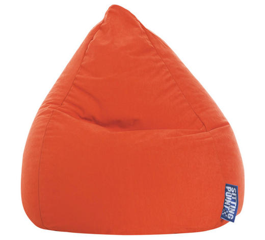 SITZSACK Mikrofaser Orange - Orange, Design, Textil (90/70cm) - Carryhome