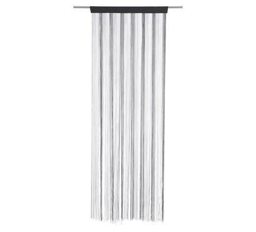 FADENSTORE - Silberfarben/Schwarz, Basics, Textil (90/245cm) - Boxxx