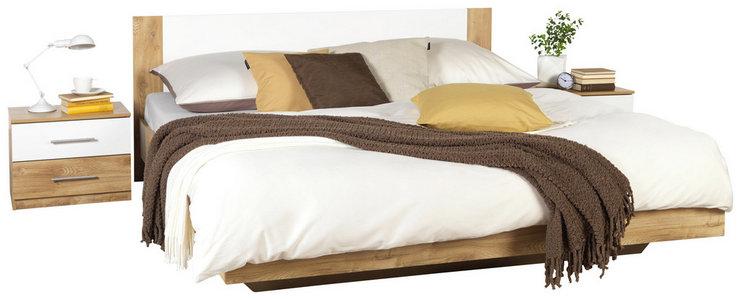 Schlafzimmer In Weiss Eichefarben Online Kaufen Xxxlutz