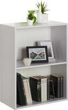 REGAL - bijela/crna, Design, drvni materijal/plastika (60/76,8/32cm) - Carryhome