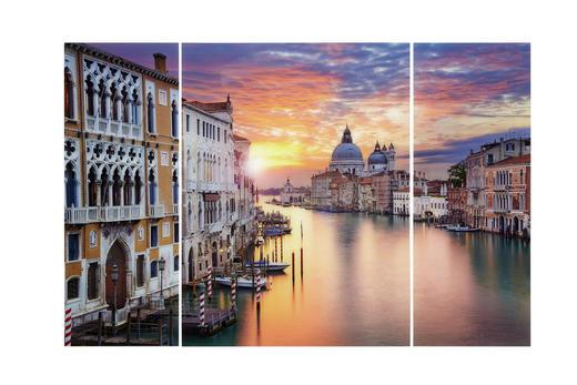 GLASBILD - Multicolor, KONVENTIONELL, Glas (120/80cm) - Eurographics