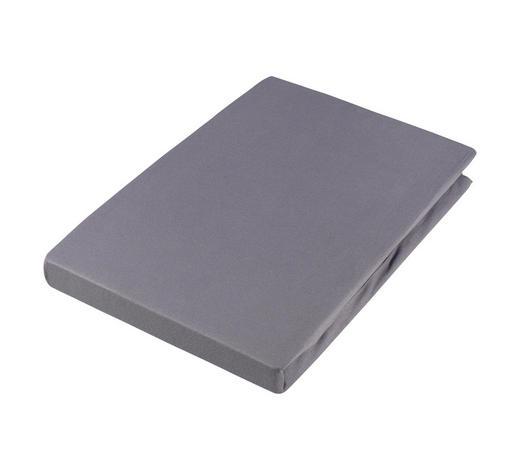 SPANNLEINTUCH 100/200 cm  - Dunkelgrau/Graphitfarben, Basics, Textil (100/200cm) - Estella