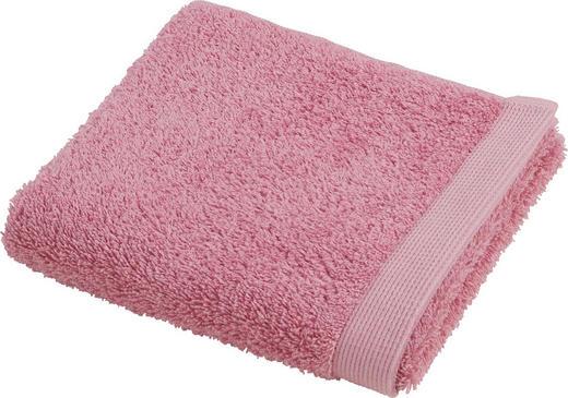 RUČNIK ZA GOSTE - roza, Konvencionalno, tekstil (40/60cm) - Vossen
