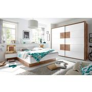 SCHLAFZIMMER 180/200 Cm   Eichefarben/Weiß, Design (180/200cm)