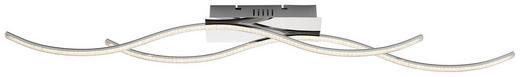 LED-DECKENLEUCHTE - Chromfarben, Design, Metall (120cm) - Novel