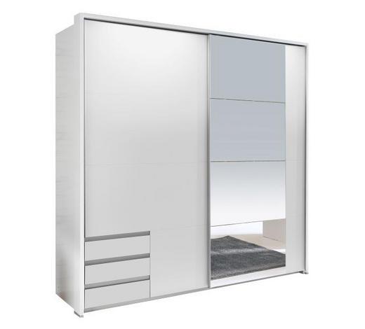 ORMAR S KLIZNIM VRATIMA bijela   - bijela, Design, drvni materijal (180/198/64cm) - Ti`me