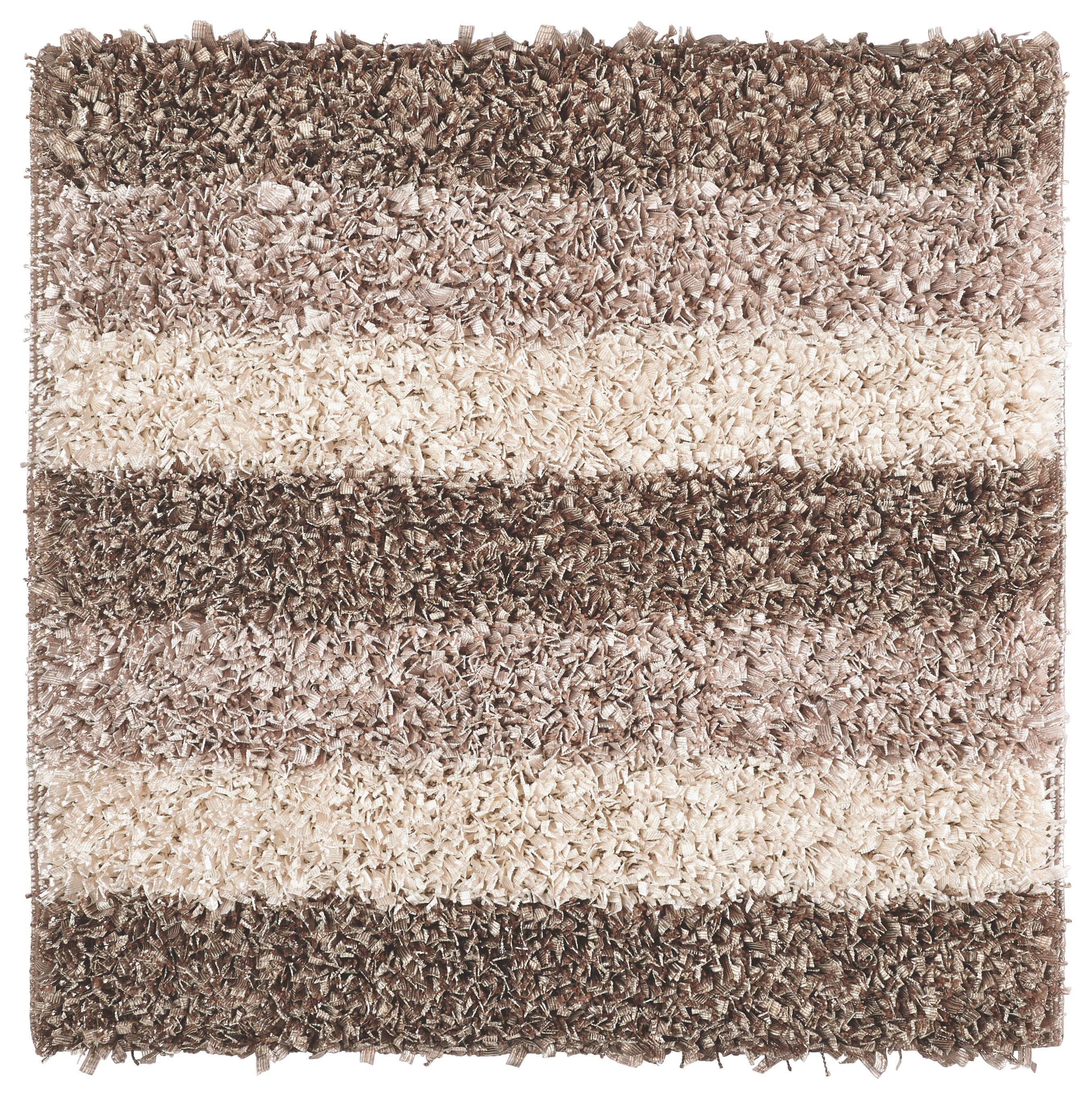 BADTEPPICH  Taupe  60/60 cm - Taupe, Kunststoff/Textil (60/60cm) - KLEINE WOLKE