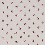 VORHANGSTOFF per lfm blickdicht  - Rot/Naturfarben, LIFESTYLE, Textil (140cm) - Landscape