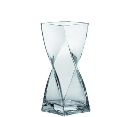 VÁZA 25 CM, čiré - čiré, Basics, sklo (25cm) - Leonardo
