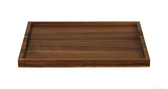 Pladenj 93805970, akacija - robinija, Basics, les (32,5/24,5/2cm) - ASA