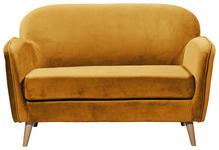SITZBANK 142/88/92 cm  in Goldfarben  - Goldfarben/Kieferfarben, Trend, Holz/Holzwerkstoff (142/88/92cm) - Carryhome