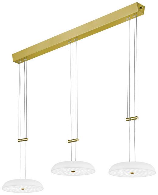 LED-HÄNGELEUCHTE - KONVENTIONELL, Glas/Metall (110/150cm) - Bankamp