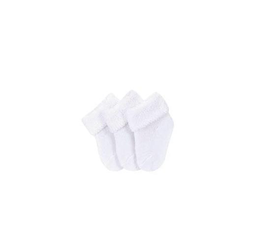 PONOŽKY - bílá, Basics, textil (15-18null) - Sterntaler