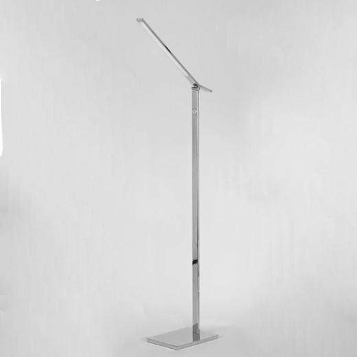 LED-STEHLEUCHTE - Chromfarben, Design, Kunststoff/Metall (59,10/21/135,5cm) - Joop!