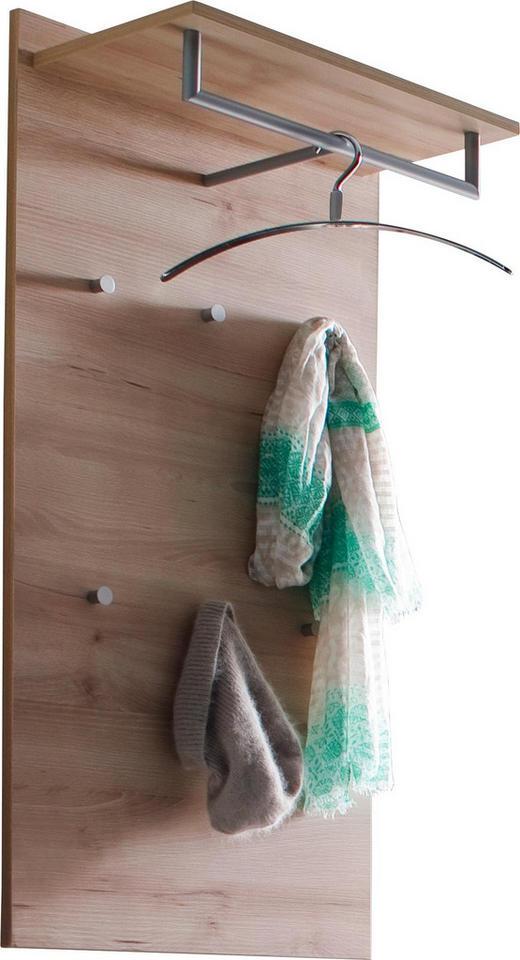 GARDEROBENPANEEL 59/115/30 cm - Buchefarben, Design, Holzwerkstoff (59/115/30cm) - Cassando