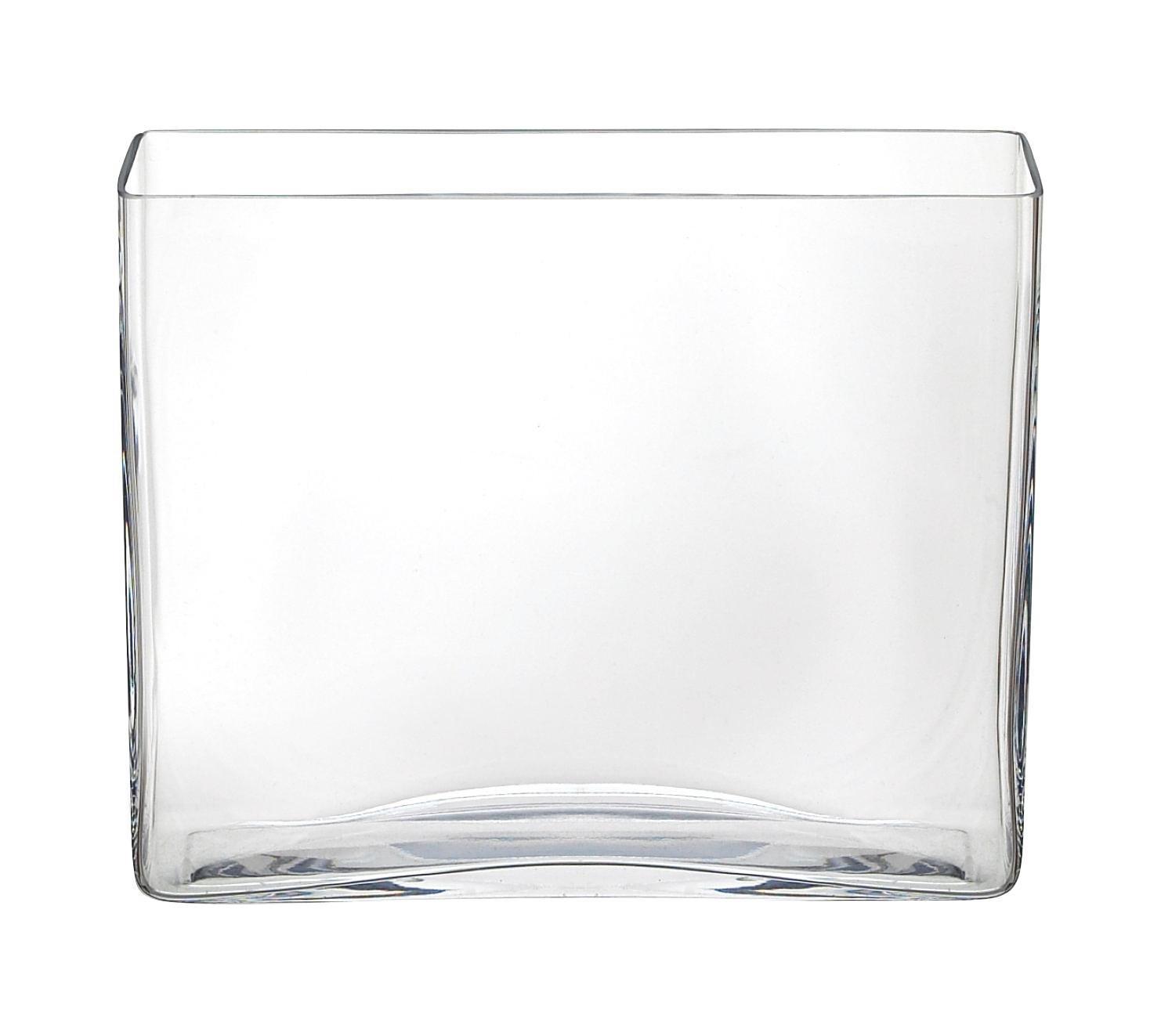 VAS - klar, glas (24,5/20/7cm) - AMBIA HOME
