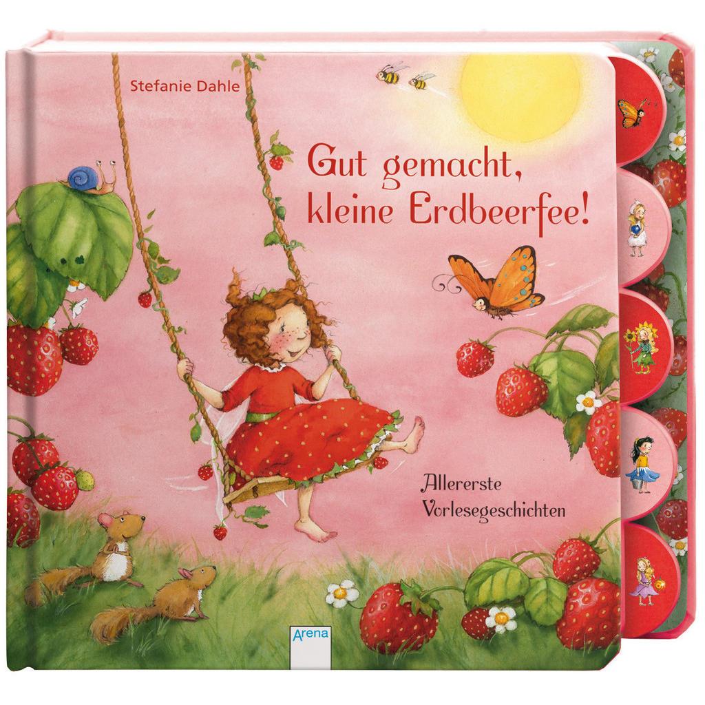 Pappbilderbuch 'Gut gemacht, kleine Erdbeerfee'