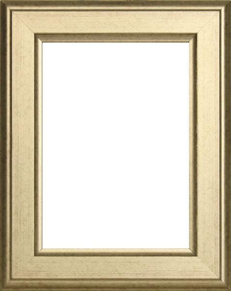 RÁM NA OBRAZY - barvy stříbra, Basics, dřevo (30/36/2cm)