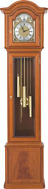 PENDELUHR 53/210/34 cm - Kirschbaumfarben, LIFESTYLE, Glas/Holz (53/210/34cm) - Venda