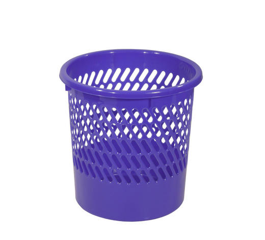 PAPIERKORB 10 l  - Blau, Basics, Kunststoff (10l)