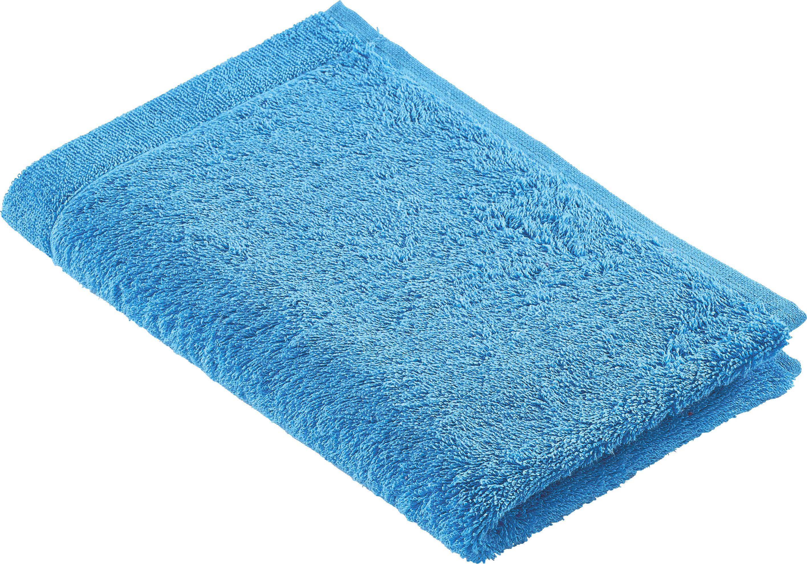 GÄSTETUCH 30/50 cm - Blau, Basics, Textil (30/50cm) - CAWOE