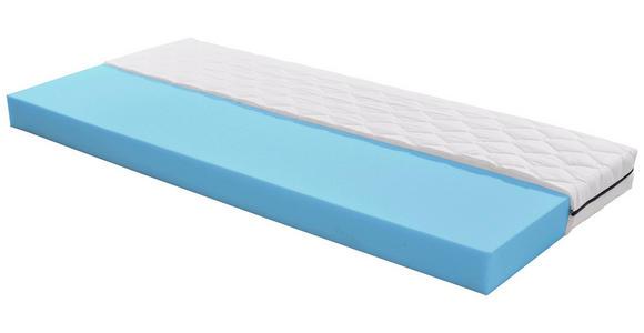 Komfortschaummatratze Base 90x200cm H2 - Weiß, MODERN, Textil (200/90cm) - Primatex