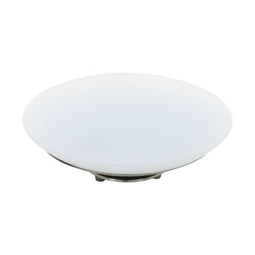 LED-TISCHLEUCHTE - Weiß/Nickelfarben, KONVENTIONELL, Kunststoff/Metall (29/11,5cm)