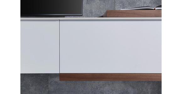 WOHNWAND in Grau, Weiß, Eichefarben  - Eichefarben/Weiß, Design, Holzwerkstoff (300/194/47cm) - Dieter Knoll
