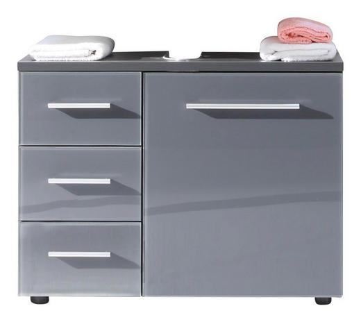 Waschbeckenunterschrank stehend mit schubladen  WASCHBECKENUNTERSCHRANK Grau online kaufen ➤ XXXLutz