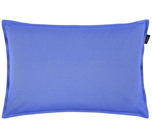 KISSENHÜLLE - Blau, Basics, Textil (40/60cm) - Novel
